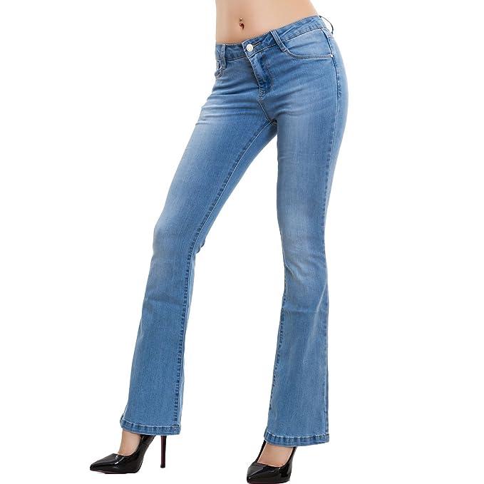 4a005ce47d0ca6 Push Elefante Toocool Pantaloni Skinny Jeans Up Donna Zampa 6xSwBqUfwI