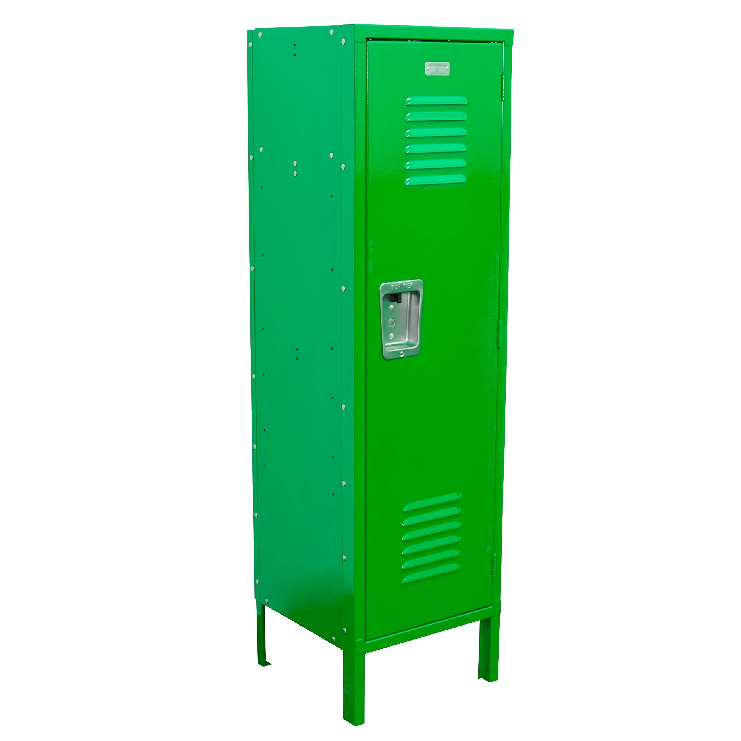 Kids Locker 15W x 15D x 54H Unassembled in 8 Amazing Colors (Green)