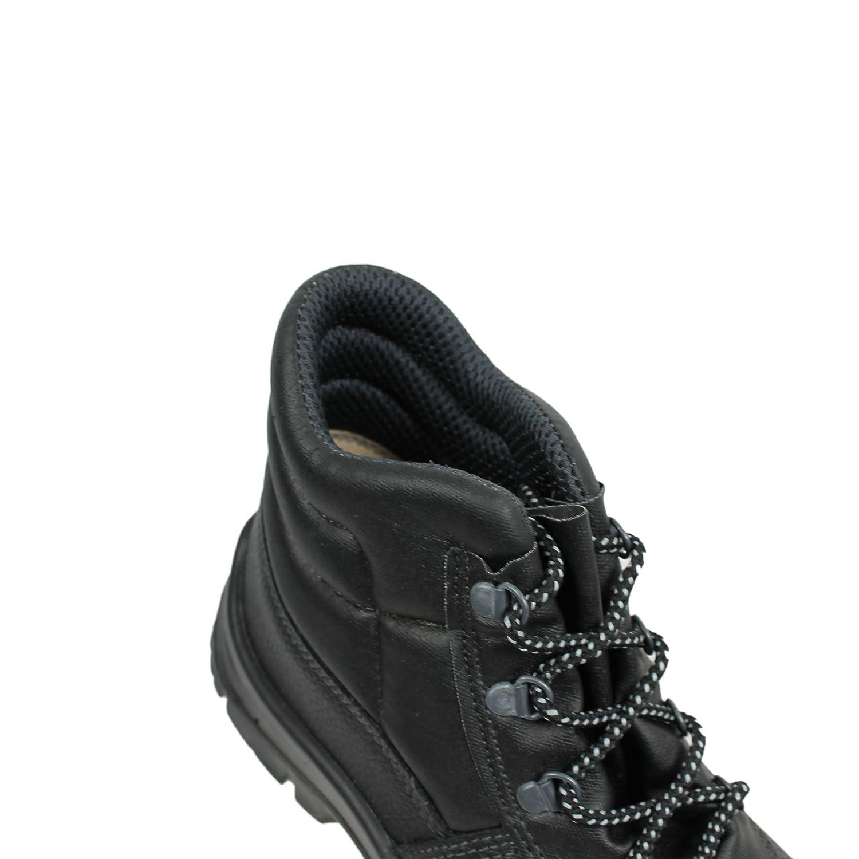 Berner - Calzado de protección de Piel para Hombre Negro Negro, Color Negro, Talla 39: Amazon.es: Zapatos y complementos