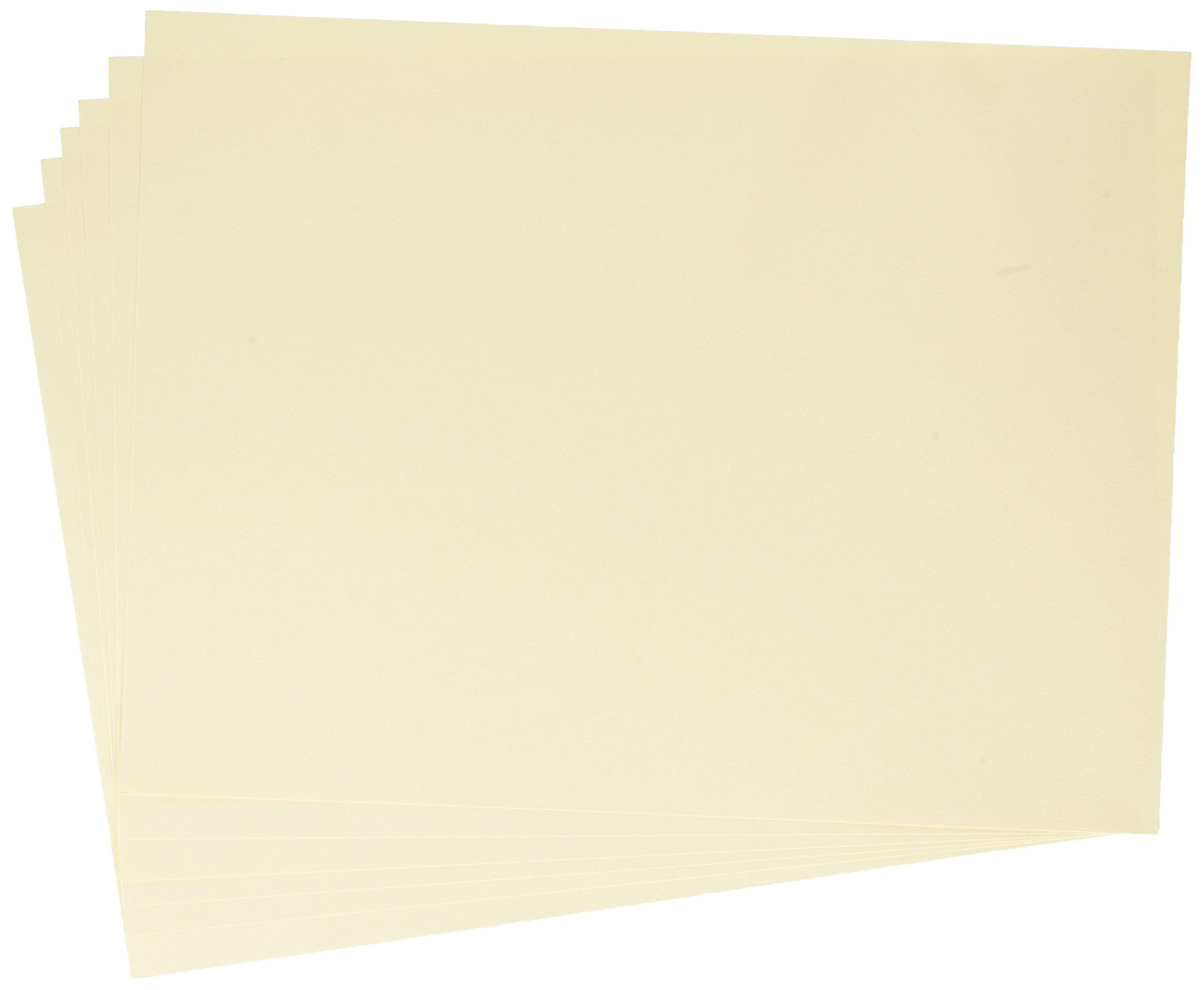 School Smart Tagboard - Medium Weight - 9 x 12 - 100 Sheets - Manila