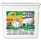 Crayola 57-4400 Model Magic Modeling Compound, 2-lb. Bucket, White, Four 8-oz. Pouches, Case of 2 Boxes