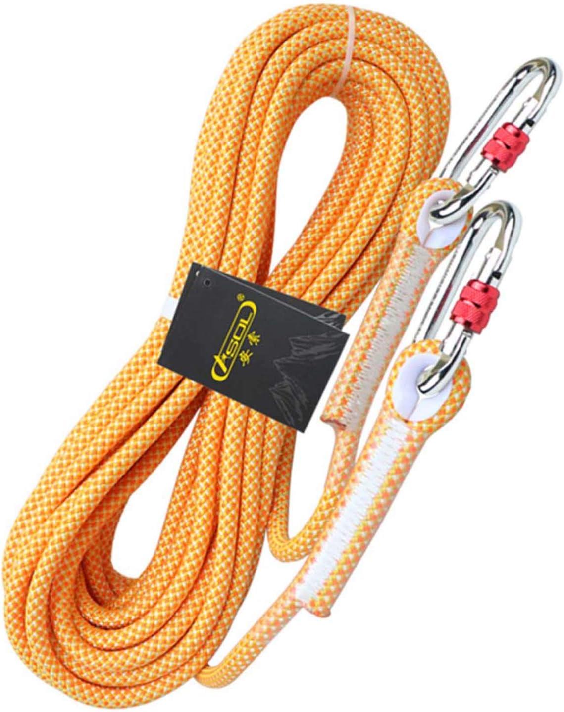 SHARESUN Al Aire Libre estática Cuerda de Escalada, 10,5 mm ...