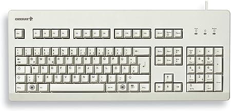 Cereza del Teclado G80 Gris Claro diseño Chino / 2 USB USB PS ...
