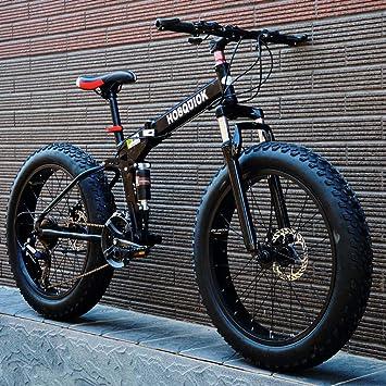 AISHFP Bicicleta de montaña Fat Tire para Hombre, Bicicletas de ...