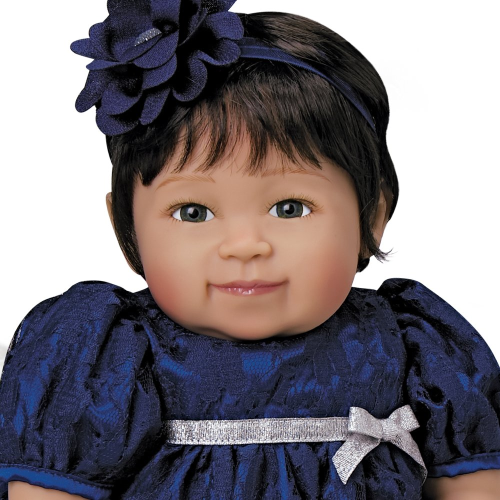 20 inch Girl in GentleTouch Vinyl /& Weighted Body Paradise Galleries Reborn Asian Toddler Baby Alexandria 5-Piece Doll Gift Set