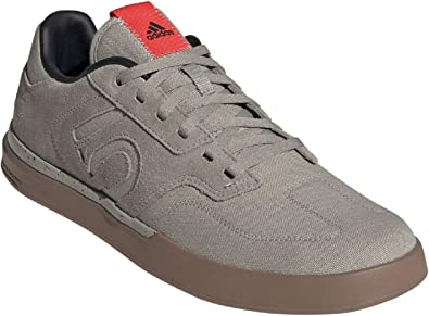Five Ten Mens Sleuth Mountain Bike Shoes Grey Sports Breathable Lightweight