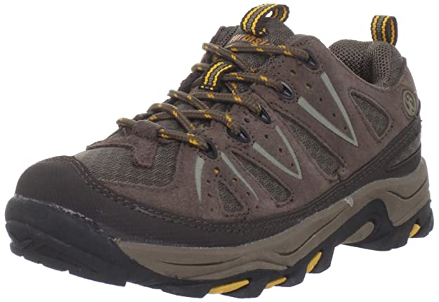 Northside Cheyenne JR Hiking Boot ,Taupe/Mango,6 M US Big Kid best kids' hiking shoes