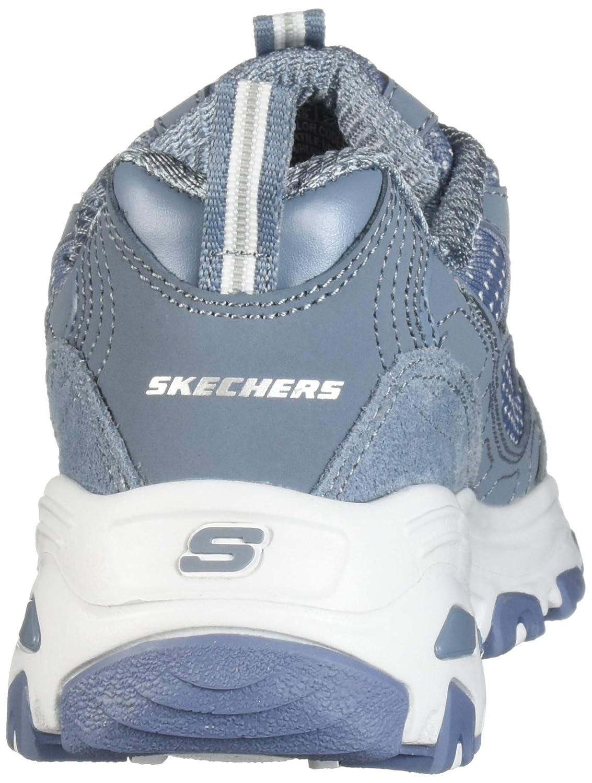 Skechers Damen Sneaker D´Lites BIGGEST FAN Slate