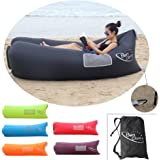 BonClare Outdoor Inflatable Beach Loungers, Waterproof Air Couch Inflatable Sofa Air Beds Beach Sofa Lounger Air Bag Portable Inflatable Loungers