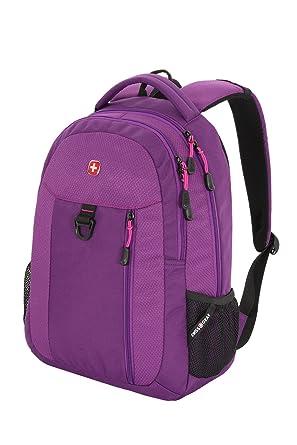 Swiss Gear Purple Backpack Click Backpacks