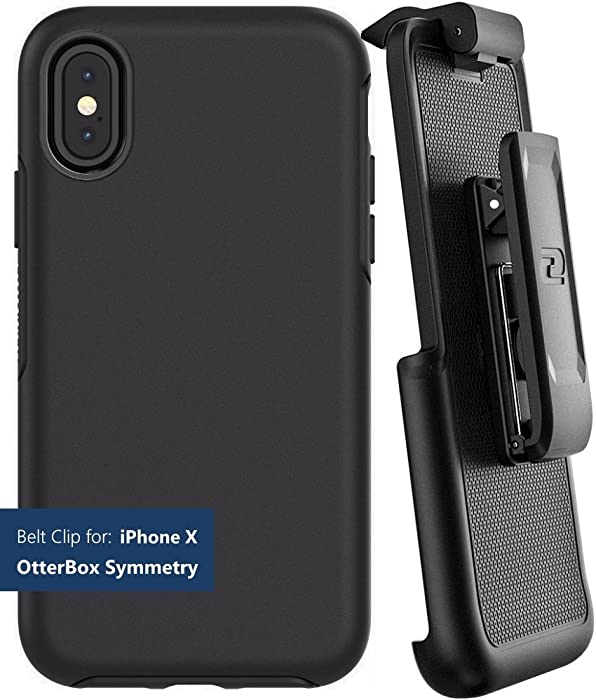 Encased Belt Clip Holster for Otterbox Symmetry Series - Apple iPhone X/iPhone Xs (case not Included) (Legacy Model only not Compatible with New Thin Design)