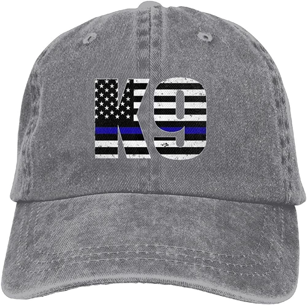 Police K9 Thin Blue LineAdult Individuality Cowboy Cap