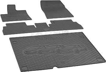 Kofferraumwanne Antirutsch passend für Peugeot Partner 5-Sitzer