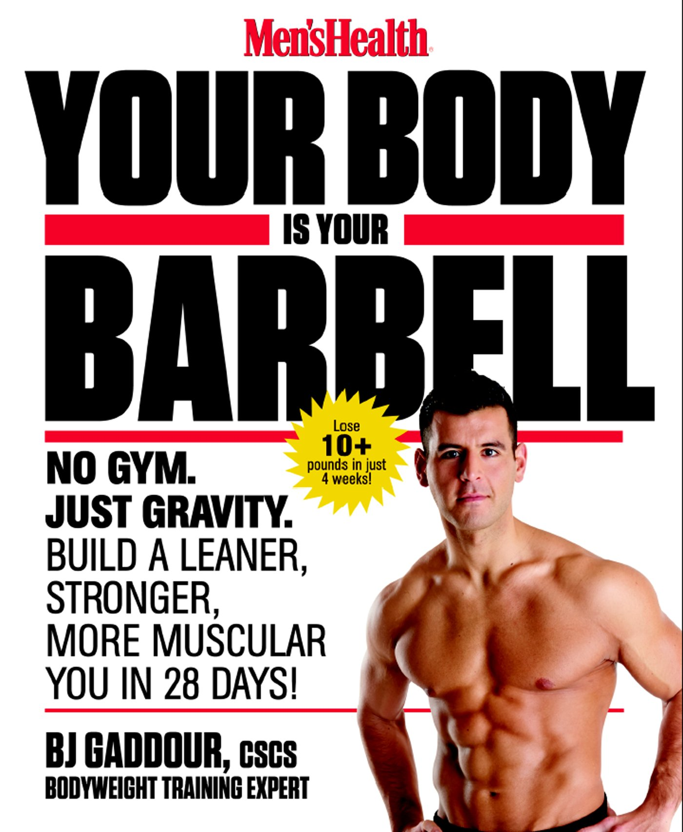 Mens Health Your Body Barbell product image