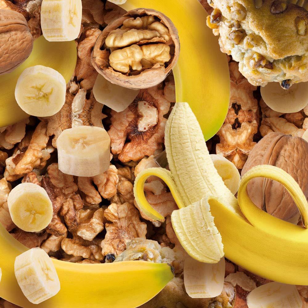 Prozis Oatmeal + Whey - Harina de avena y proteína whey 1000 g Plátano con nueces Cereales Repletos De Hidratos De Carbono De Alta Calidad Y Fibras ...