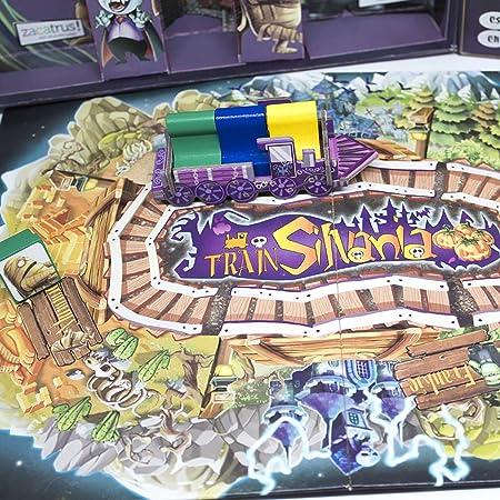 Zacatrus!- TrainSilvania Juego de Mesa, Multicolor (ZAC030): Amazon.es: Juguetes y juegos