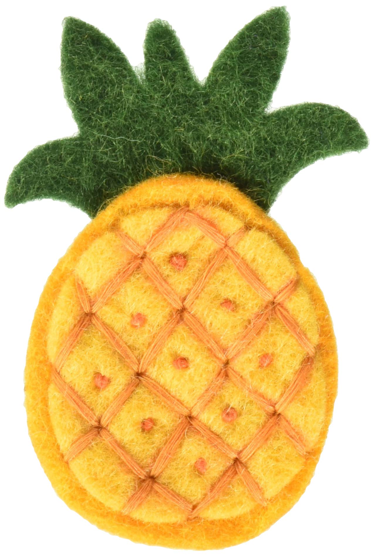 Dimensions 72-75052 Pineapples Felt Embellishment by Dimensions