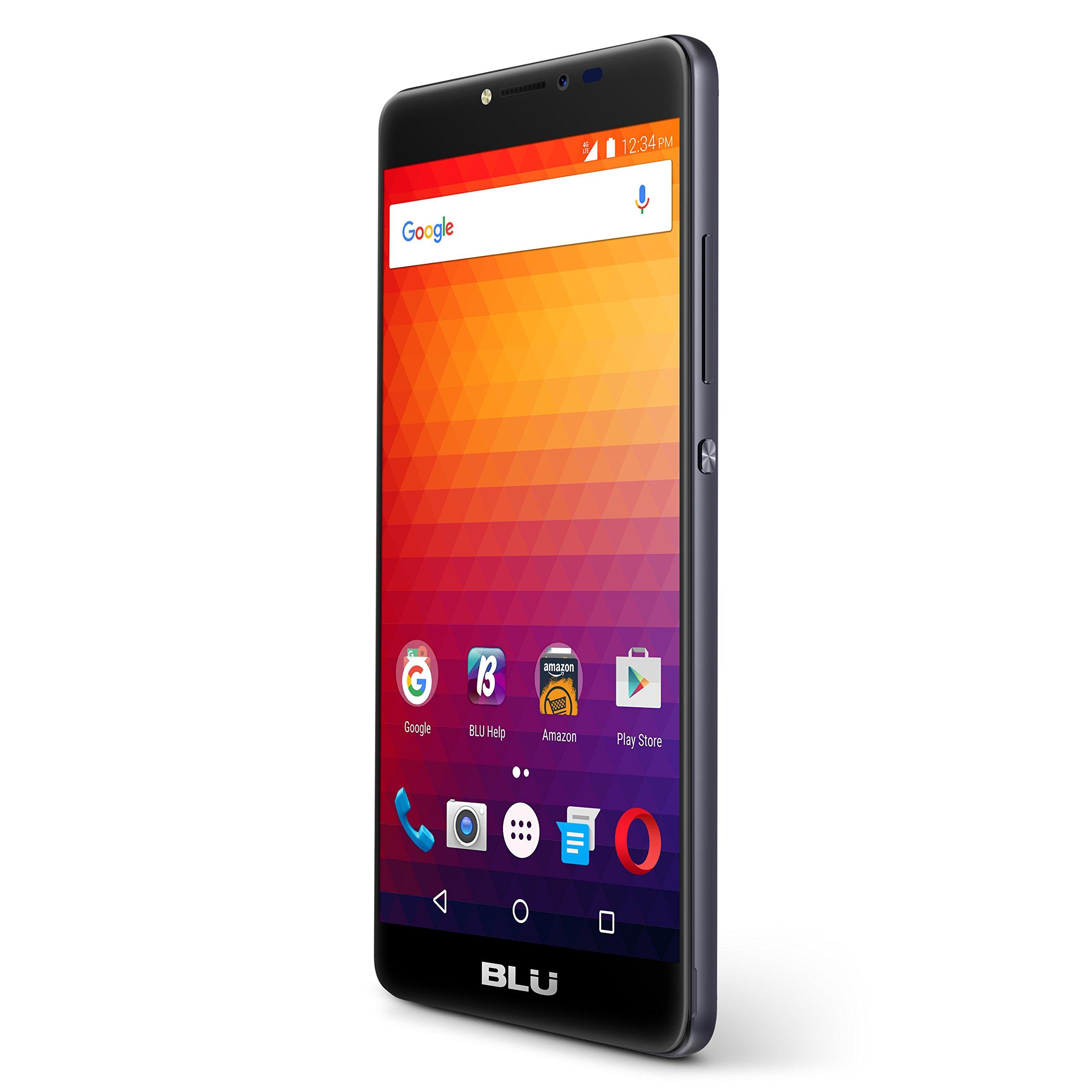 BLU R1 Plus - 4G LTE Unlocked Smartphone - 32GB + 3GB RAM -Black by BLU