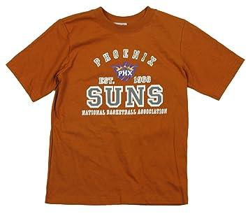 Phoenix Suns NBA grandes chicos camiseta de manga corta, color naranja, Large 10-12, Anaranjado: Amazon.es: Deportes y aire libre