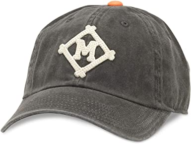 44747A-MML-BLOR American Needle Archive Vintage MiLB Minneapolis Millers Baseball Dad Hat