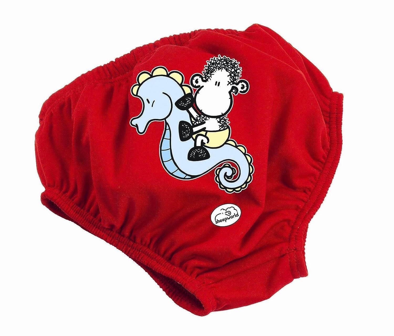 Fashy Baby 1569 - Bañador pañal para bebé rojo rojo Talla:86/92
