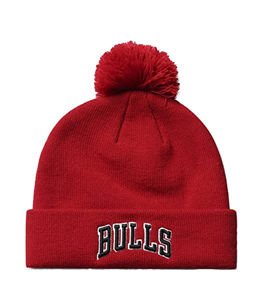 Adidas Berretti NBA Chicago Bulls Rosso, Large: Amazon.it