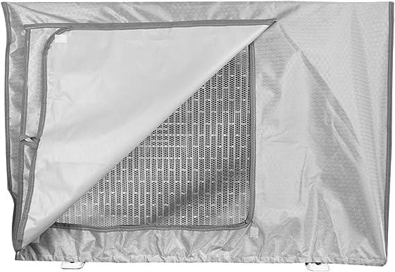 Yinuoday Copertura Del Condizionatore Daria Allaperto Copertura Antipolvere Antipolvere Anti-Neve per La Casa 80 54 Cm 28