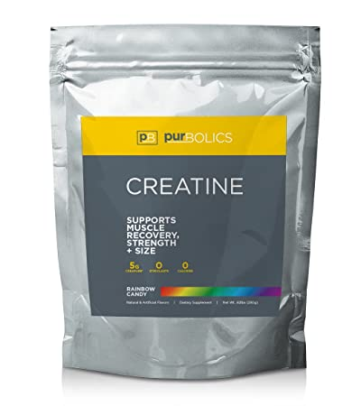 Purbolics Creatine Supports Recovery Strength Trademark Creapure Formula Micronized Creatine Monohydrate 5g 50 Servings