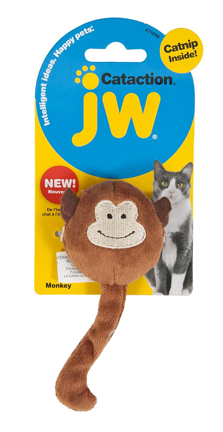 Petmate Cat Plush Catnip Monkey Toy