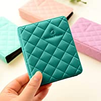 Shopizone Mini 36 Pockets Album for Instax Mini 8/9 / 9+ Accessory Travel Diary to Store Memories - Sea Green