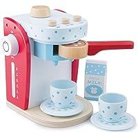 New Classic Toys – 10700 – barnrollspel – kaffemaskin – flerfärgad (röd)