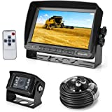 '18 IR LED Waterproof Rear View System Camera + 7 TFT LCD Car Monitor (2 Brackets)