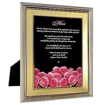 Color rosa rosas para madre de hija o hijo - regalo de ...