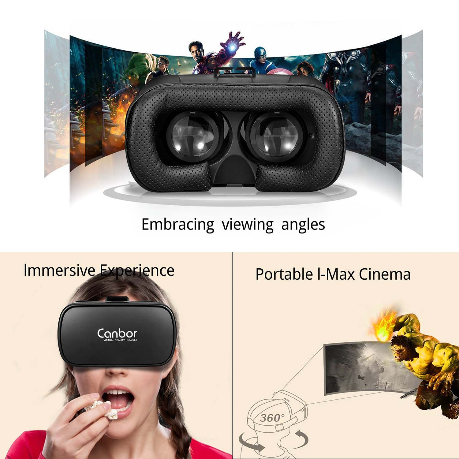 878bf31ffd3 Canbor VR Headset