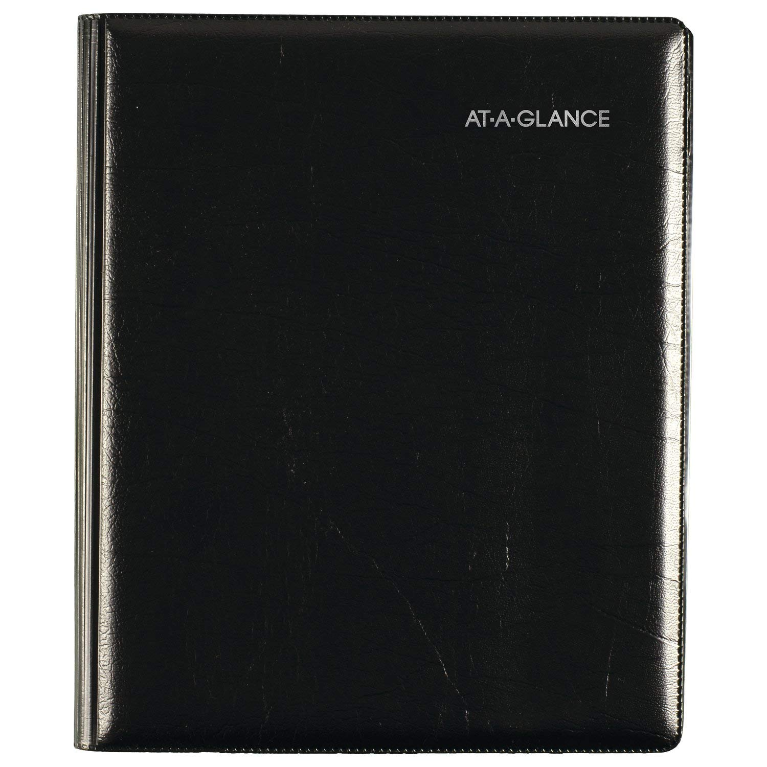 AT-A-GLANCE 2019 Weekly & Monthly Appointment Book Refill, DayMinder, 7'' x 8-3/4'', Medium, Executive, Black (G54500)