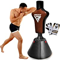 RDX Freistehend Boxen Abgewinkelt MMA Sack Aufstieg Boxsack Stehend Kickboxen Training Gefüllt Gewicht