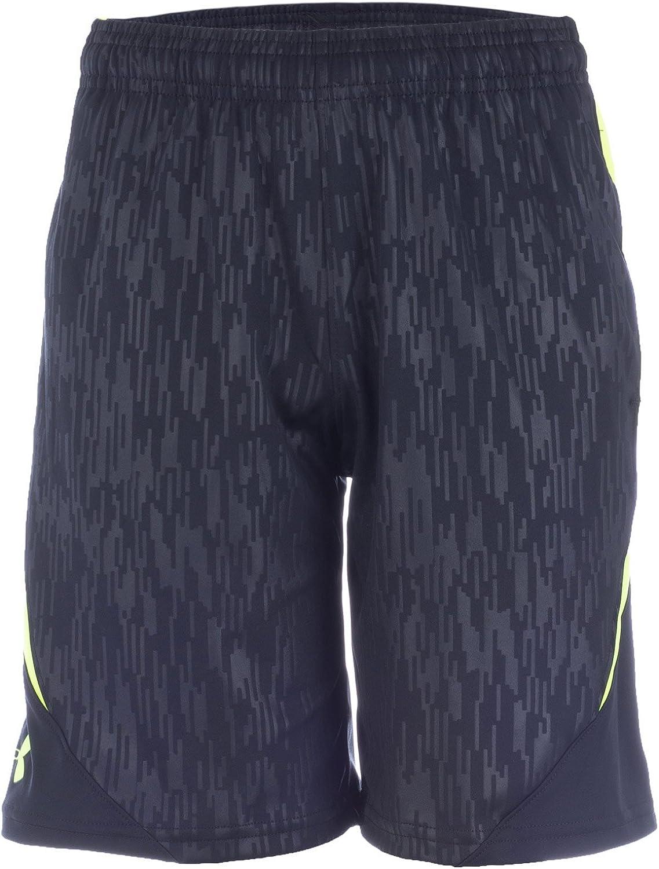 talla M Under Armour Shorts Trilogy Pantalones cortos de running para ni/ño color negro