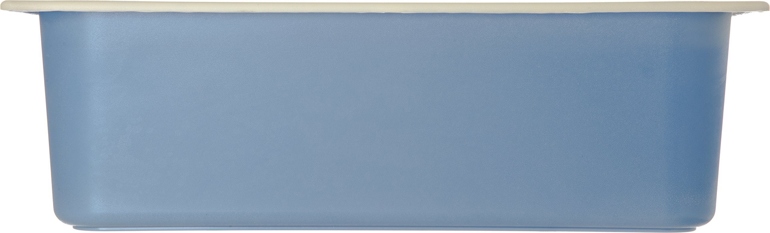 Carlisle CM1100C1402 Coldmaster CoolCheck 6'' Deep Full-Size Insulated Cold Food Pan, 15 Quart, Color Changing, White/Blue by Carlisle (Image #2)