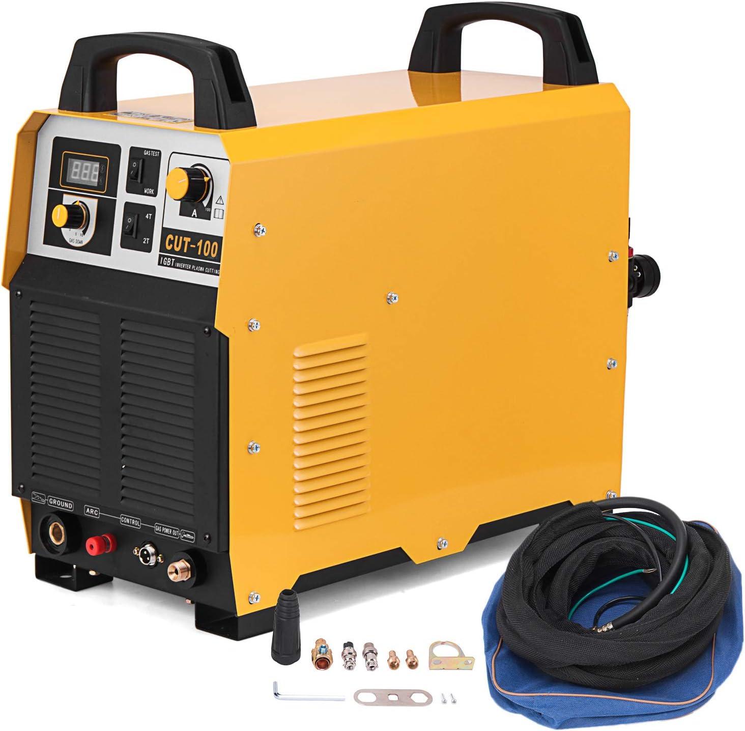 Moracle Plasma Corte CUT-100 IGBT Instrumento 100A Piloto de iluminación 35 mm 380V (CUT-100)