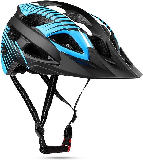 Shinmax Casco Bicicleta, Certificado por CE, Casco de Bicicleta ...