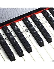 Pegatinas para teclado o piano para teclado de 49/61/76/88,