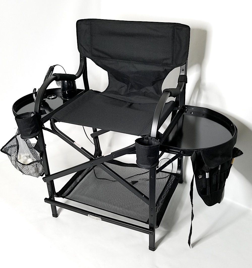 PRESALE------# MU2R Tuscany Pro Makeup & Hair Portable Chairs Unique Italian Design High Quality Product (25 Seat Height) CC65TTPRO-Master