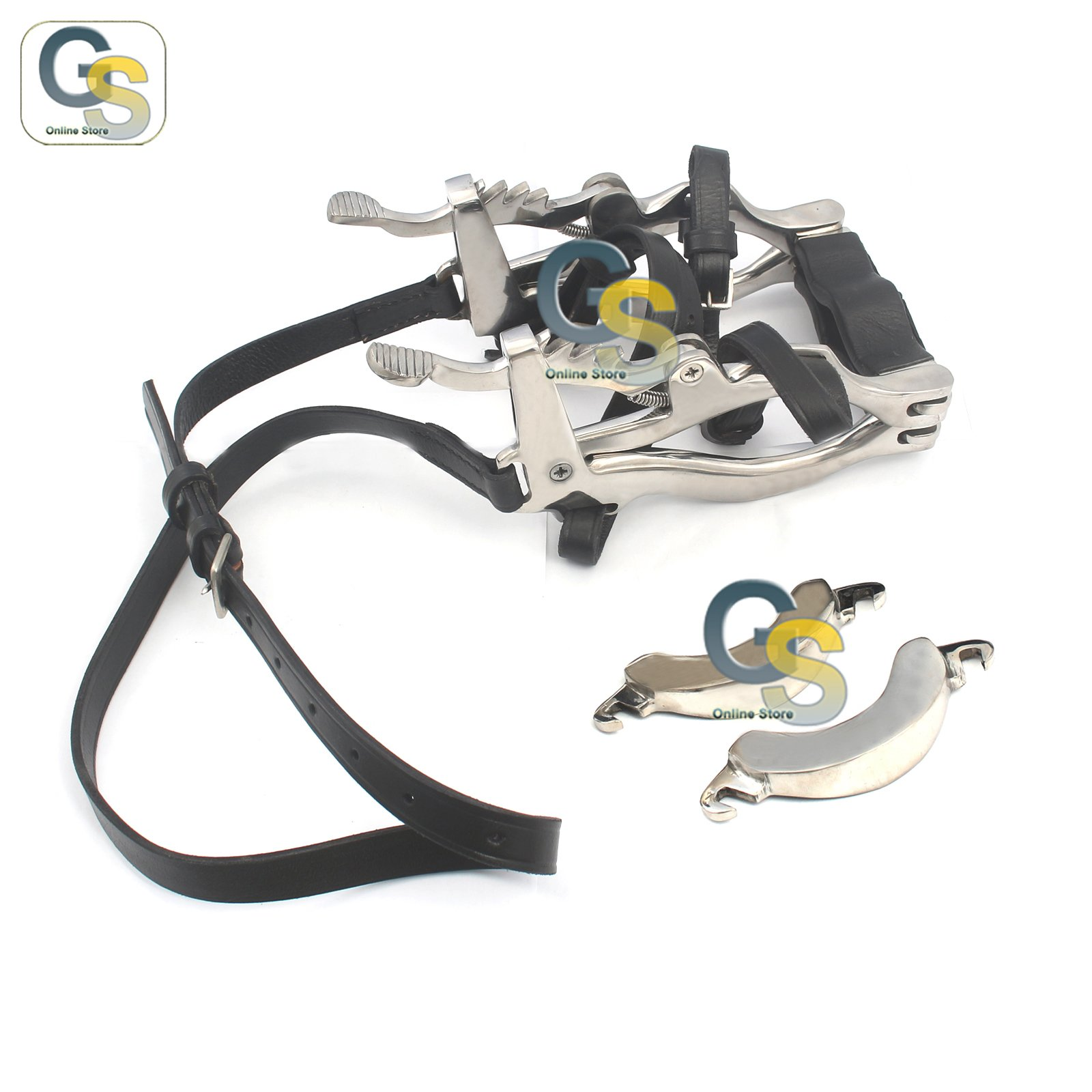 G.S HORSE MOUTH SPECULUM STAINLESS STEEL BEST QUALITY