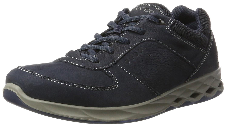 Ecco Wayfly, Zapatos de Low Rise Senderismo para Hombre 39 EU|Azul (Navy)