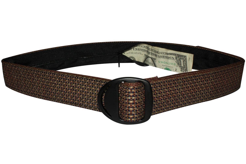 Bison Designs Crescent Money 38mm USA Made Travel Belt