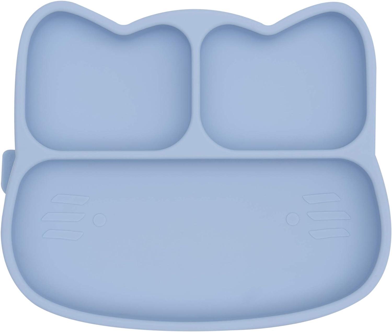 We Might Be Tiny Plaque en silicone pour chat Bleu