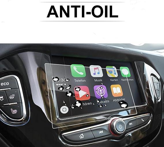 LFOTPP Opel Corsa Zafira Karl Rocks 7 Pulgadas Navegación Protector de Pantalla - 9H Cristal Vidrio Templado GPS Navi película protegida Glass