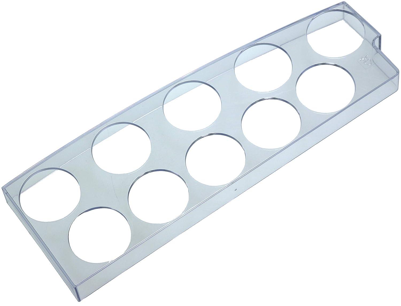 piebert 10 huevos Vaso Huevera 27 x 9 x 2 cm | universal para frigorí ficos