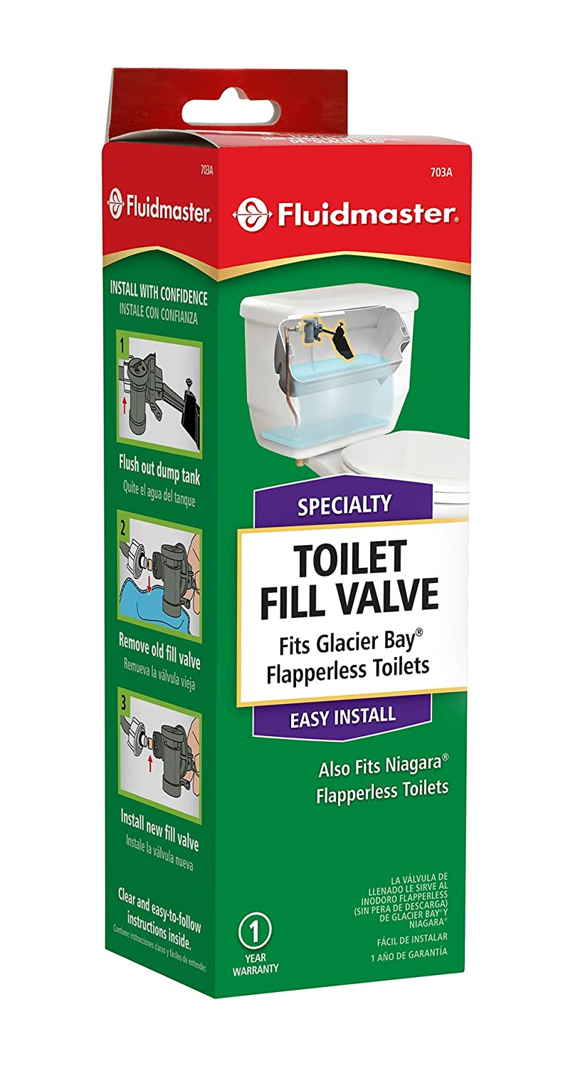Fluidmaster 703AP4 Specialty Toilet Fill Valve for Glacier Bay and ...