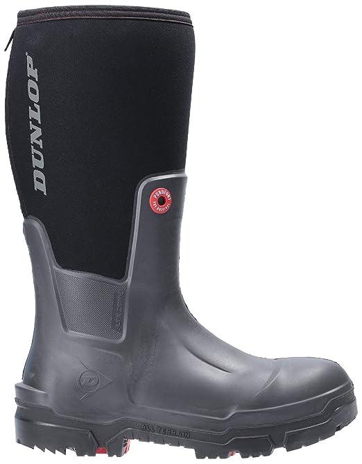 Dunlop snugboot Pioneer OD60A93 Noir Non-Sécurité Wellington Boot